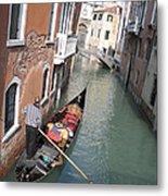 Gondola. Venice Metal Print