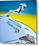 1938 Dodge Ram Hood Ornament -136c46 Metal Print