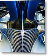 1939 Chevrolet Coupe Grille -115c Metal Print