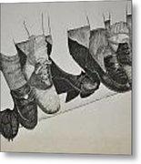 1950 Shoe Fad Metal Print by Glenn Calloway