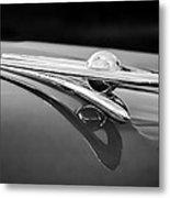 1955 Packard Clipper Hood Ornament 5 Metal Print