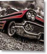 1958 Chev Biscayne Metal Print by motography aka Phil Clark