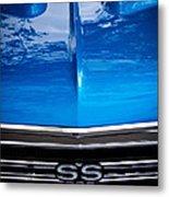 1967 Chevy Chevelle Ss Metal Print