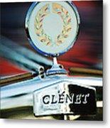 1979 Clenet Hood Ornament -176c Metal Print