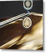 1979 Clenet Hood Ornament -183c Metal Print