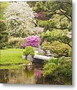 Asticou Azelea Garden - Northeast Harbor - Mount Desert Island - Maine Metal Print