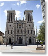 Cathedral Of San Fernando Metal Print