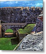 El Morro Fortress Old San Juan Metal Print