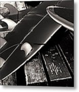 Fins And Boards Metal Print