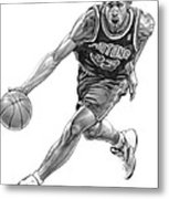 Grant Hill Metal Print by Harry West