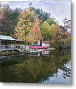 Quiet Day Metal Print by Cindy Rubin