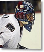 Roberto Luongo Metal Print by Don Olea