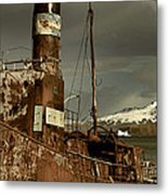 Rusted Whaling Boats Metal Print by Amanda Stadther