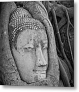 The Ancient City Of Ayutthaya Metal Print