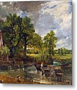The Hay Wain Metal Print by John Constable