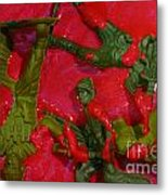Toy Soldiers In A Pool Of Blood Metal Print by Amy Cicconi