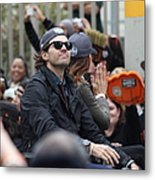 2012 San Francisco Giants World Series Champions Parade - Barry Zito - Img8206 Metal Print