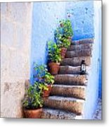 Colorful Old Architecture Details Metal Print by Yaromir Mlynski