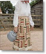 Farm Woman  Metal Print by Jim Pruitt