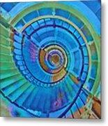 Stairway To Lighthouse Heaven Metal Print