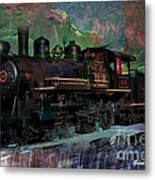 Steam Locomotive Metal Print by Gunter Nezhoda