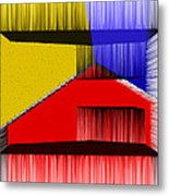 3d Abstract 1 Metal Print by Angelina Vick