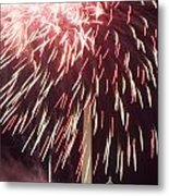 July 4th Fireworks Metal Print by JP Tripp