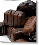 Chocolate Candies Metal Print