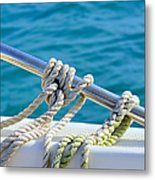 The Ropes Metal Print