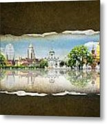 Background Travel Concept Metal Print