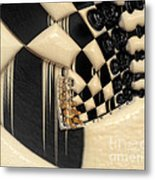 A Game Of Chess Metal Print by Liane Wright