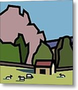 A Lazee Sunny Afternoon. Metal Print by Kenneth North