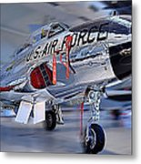 A Shooting Star Metal Print by Metro DC Photography