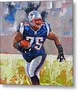 A Well Conditioned Athlete Metal Print by Laura Lee Zanghetti