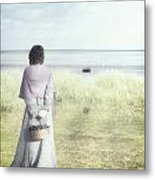 A Woman And The Sea Metal Print by Joana Kruse