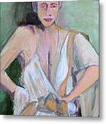 A Woman In Love Metal Print