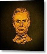 Abraham Lincoln  Metal Print by David Dehner