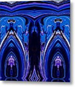Abstract 178 Metal Print by J D Owen