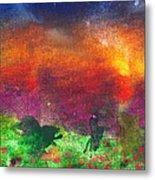 Abstract - Crayon - Utopia Metal Print