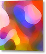 Abstract Dappled Sunlight Metal Print