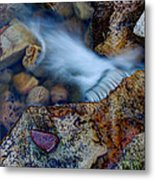 Abstract Falls Metal Print by Chad Dutson