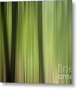 Abstract Trees In The Forest Metal Print
