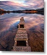 Across The Water Metal Print by John Farnan