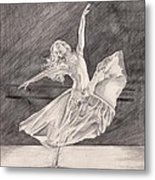 Adagio Metal Print by Beverly Marshall