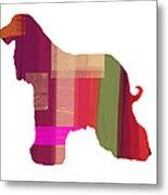 Afghan Hound 2 Metal Print by Naxart Studio