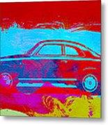 Alfa Romeo  Watercolor 1 Metal Print by Naxart Studio
