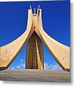 Algiers Martyrs Monument Metal Print by Miguel Torres