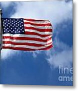American Flag Metal Print by Amy Cicconi