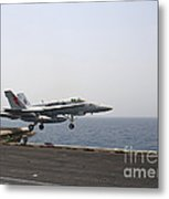An Fa-18c Hornet Takes Metal Print by Stocktrek Images