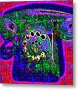 Analog A-phone - 2013-0121 - V4 Metal Print